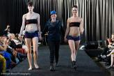 Michael Moore Photography ©2015 Queer Fashion Week  Play Out Underwear with Rain Dove (model) and Abby Sugar (co-owner)