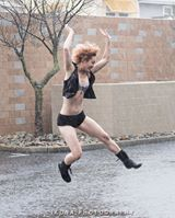 Glenn Jones/Ikona Photography Charis in the rain, 2014