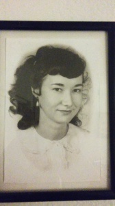 My grandmother, Miriam Parham, in her youth
