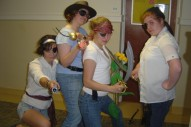 Pirates. Charis, Jenna, Rachael, Meredith