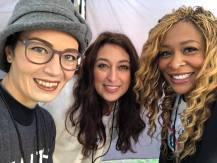 Charis with Alicia Lewis & Adama Iwu of We Said Enough: wesaidenough.com