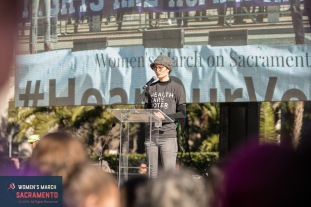 Women's March Sacramento official photography