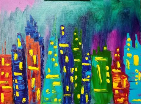 GreenEva in the Big City